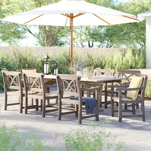 Manchester 9 Piece Dining Set by Sol 72 Outdoor Modern