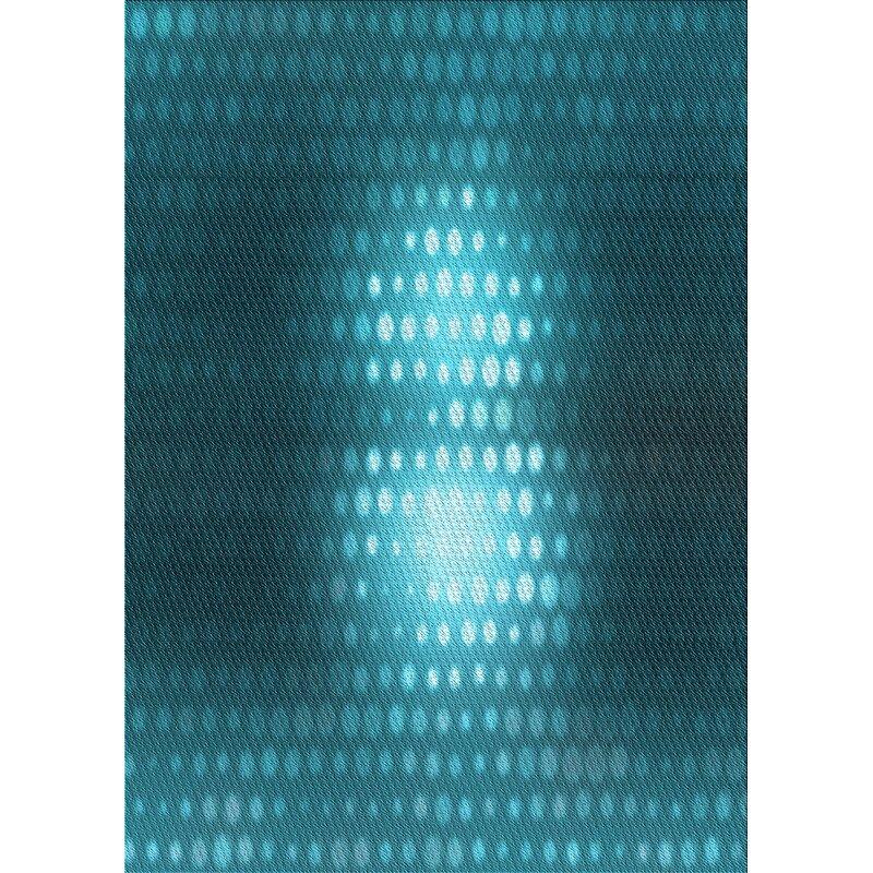 East Urban Home Ashburn Polka Dots Wool Light Blue Area Rug Wayfair
