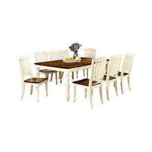 Laureus 9 Piece Extendable Dining Set Hokku Designs