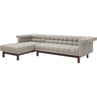 Great Price George 114 Sofa with Chaise by TrueModern Reviews (2019) & Buyer's Guide