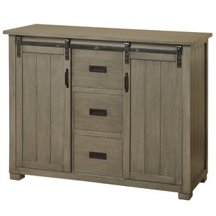 Ewart Barn Door Sideboard Gracie Oaks