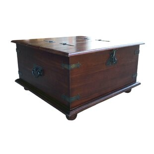 Rustico Coffee Table with Lift Top by D-Art Collection