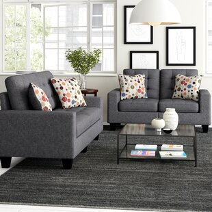 Amia 2 Piece Living Room Set by Zipcode Design