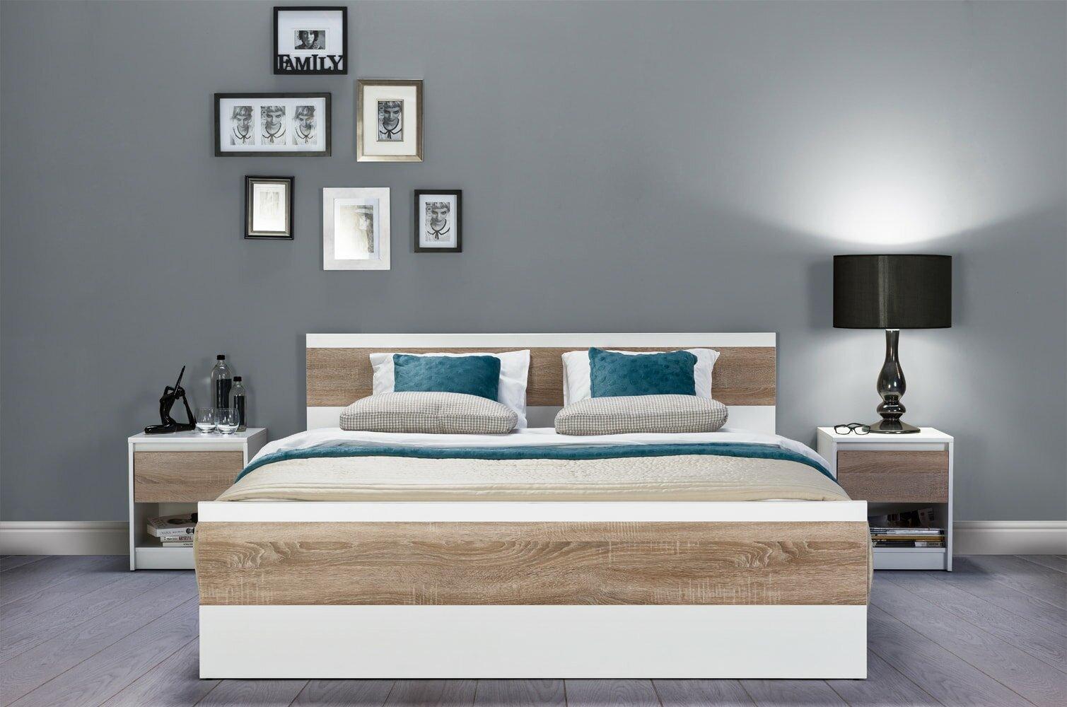 Wrought Studio Midgett Queen Platform Bed With Mattress Wayfair