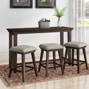 Strange Suzann Multi Purpose 4 Piece Pub Table Set Andrewgaddart Wooden Chair Designs For Living Room Andrewgaddartcom