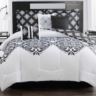 Aly 7 Piece Reversible Comforter Set