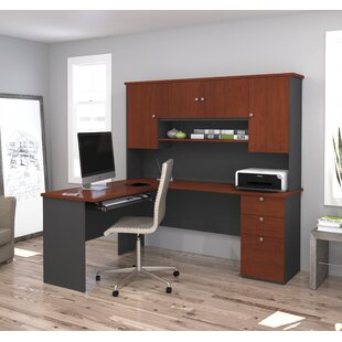 Independence Reversible Executive Desk With Hutch by Red Barrel Studio Amazing
