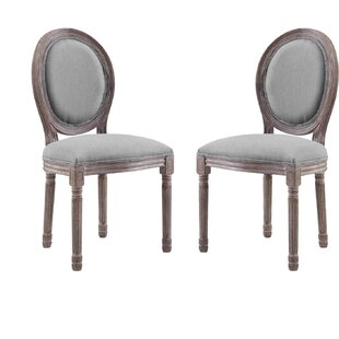 Alina Upholstered Dining Chair Set of 2