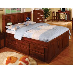 Hinderliter Full Captain Bed with Drawers By Zoomie Kids