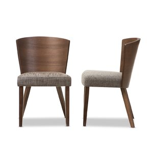 Jody Gravel Dining Chair (Set of 2) Brayden Studio