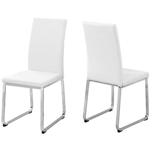 Upholstered Dining Chair (Set of 2) Monarch Specialties Inc.