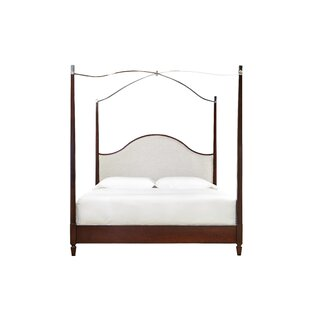 Bart Upholstered Canopy Bed by Darby Home Co