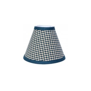 Villasenor Check Cotton Empire Lamp Shade