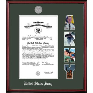 Army Certificate Petite Picture Frame By Patriot Frames