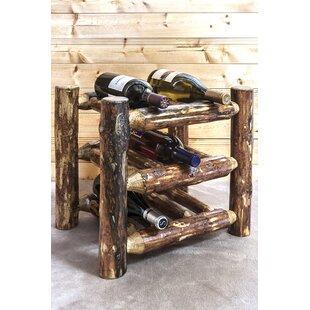 Big Save Tustin 9 Bottle Tabletop Wine Rack By Loon Peak