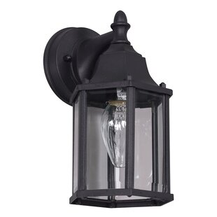 Look for 1-Light Outdoor Wall Lantern By Sunset Lighting