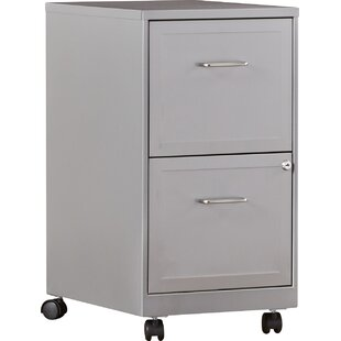 Forest 2 Drawer Mobile Vertical Filing Cabinet