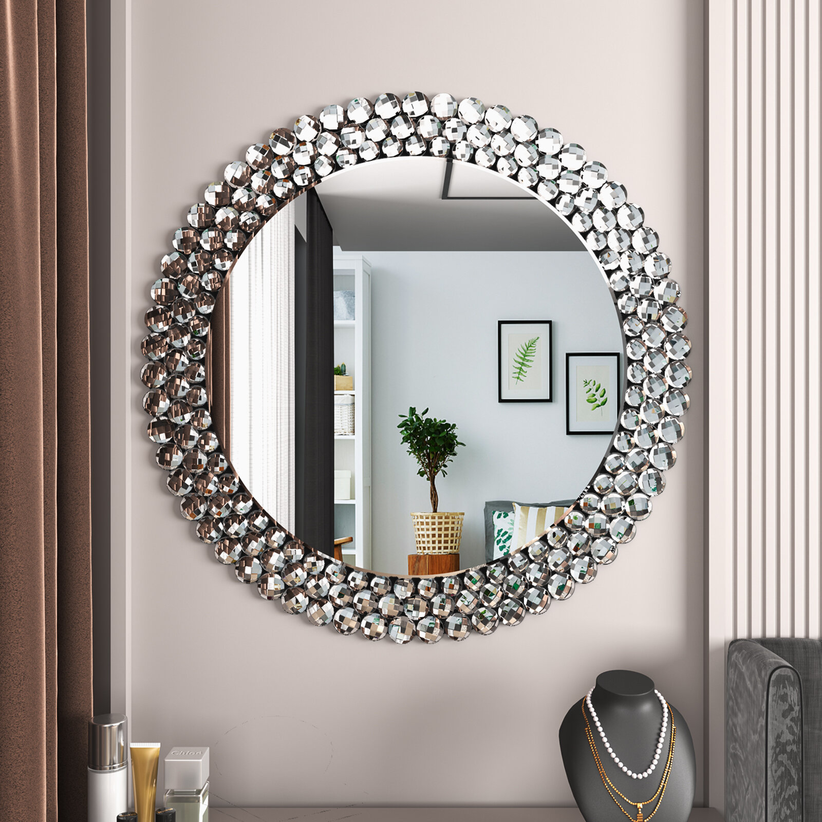 Wayfair Round Wood Mirrors You Ll Love In 2021
