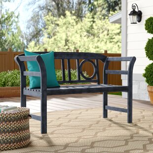Brinwood 2 Seat Acacia Garden Bench by Charlton Home