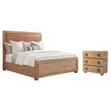Los Altos Upholstered Standard Configurable Bedroom Set by Tommy Bahama Home