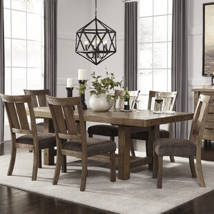 Etolin 7 Piece Dining Set Loon Peak