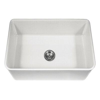 Platus 30 X 20 Apron Front Fire Clay Single Kitchen Sink