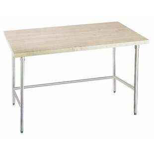 Prep Table With Wood Top by A-Line Advance Tabco Reviews