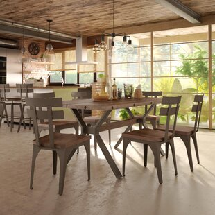 Darcelle 7 Piece Distressed Dining Set