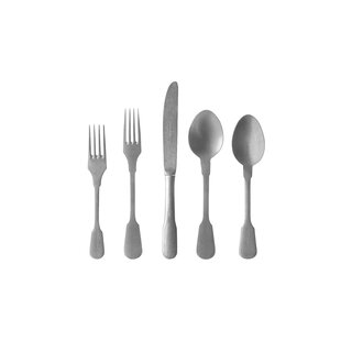Saga 20 Piece 18/10 Stainless Steel Flatware Set, Service for 1