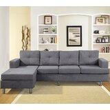 Bleier 97.3 Reversible Sofa & Chaise by Latitude Run®