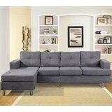 Borgos 97.3 Reversible Sofa & Chaise by Latitude Run®