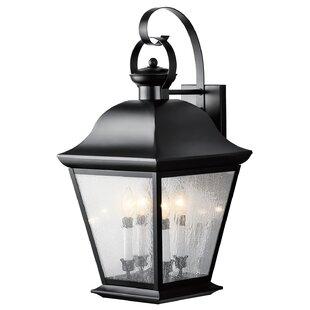 Best Price Darrah 4-Light Outdoor Wall Lantern By Three Posts