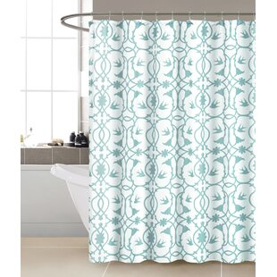 Susan Single Shower Curtain by Ophelia & Co. Top Reviews