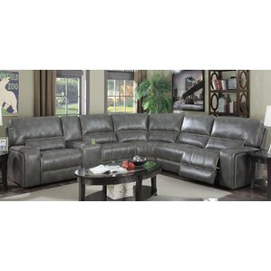 Skyler Reclining Sectional by E-Motion Furni..