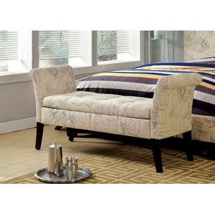 Columbus Upholstered Storage Bench by Ophelia & Co. Cool