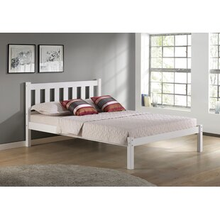 Affordable Price Damian Twin Platform Bed with Headboard ByMistana