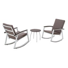 Ormes 3 Piece Rocker Seating Group with Cushion