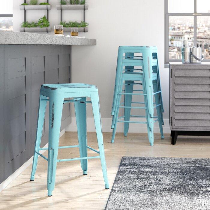 Awe Inspiring Isabel 26 Bar Stool Machost Co Dining Chair Design Ideas Machostcouk