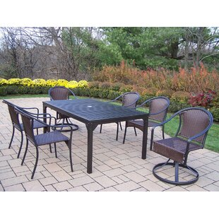 Lisabeth 7 Piece Dining Set