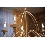 5 Watt (40 Watt Equivalent) , B11 LED, Dimmable Light Bulb,  (2700K) E12/Candelabra Base
