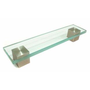 Contemporary Metal/Glass 6 5/16