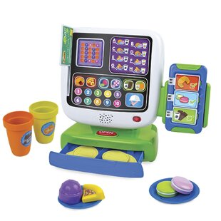 Affordable ICafe Cash Register Play Food ByWinfun