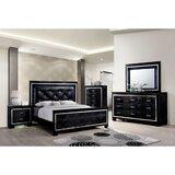 Sariyah Queen Platform Solid Wood 5 Piece Bedroom Set by Rosdorf Park