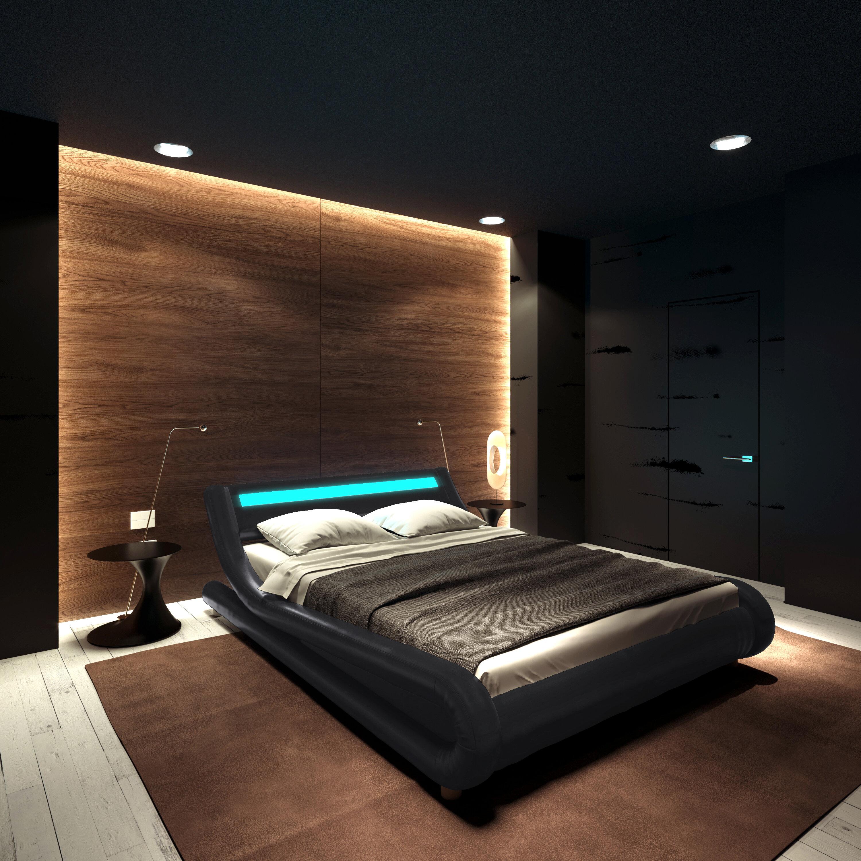 Orren Ellis Karratha Upholstered Low Profile Platform Bed Reviews Wayfair Ca