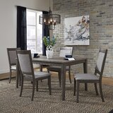 Ladwig 5 Piece Dining Set by Union Rustic