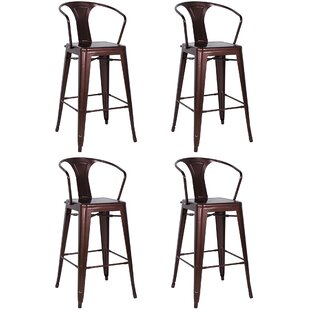 Toms 30 Bar Stool (Set of 4) Brayden Studio
