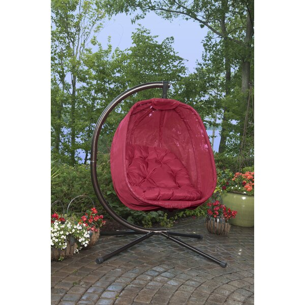 Pleasing Indoor Swinging Egg Chair Wayfair Caraccident5 Cool Chair Designs And Ideas Caraccident5Info