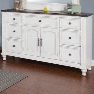Sevigny 7 Drawer Combo Dresser by August Grove