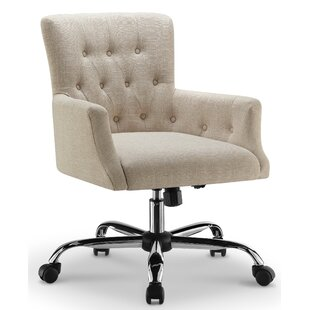 Persaud Swivel Executive Chair by Canora Grey Great price