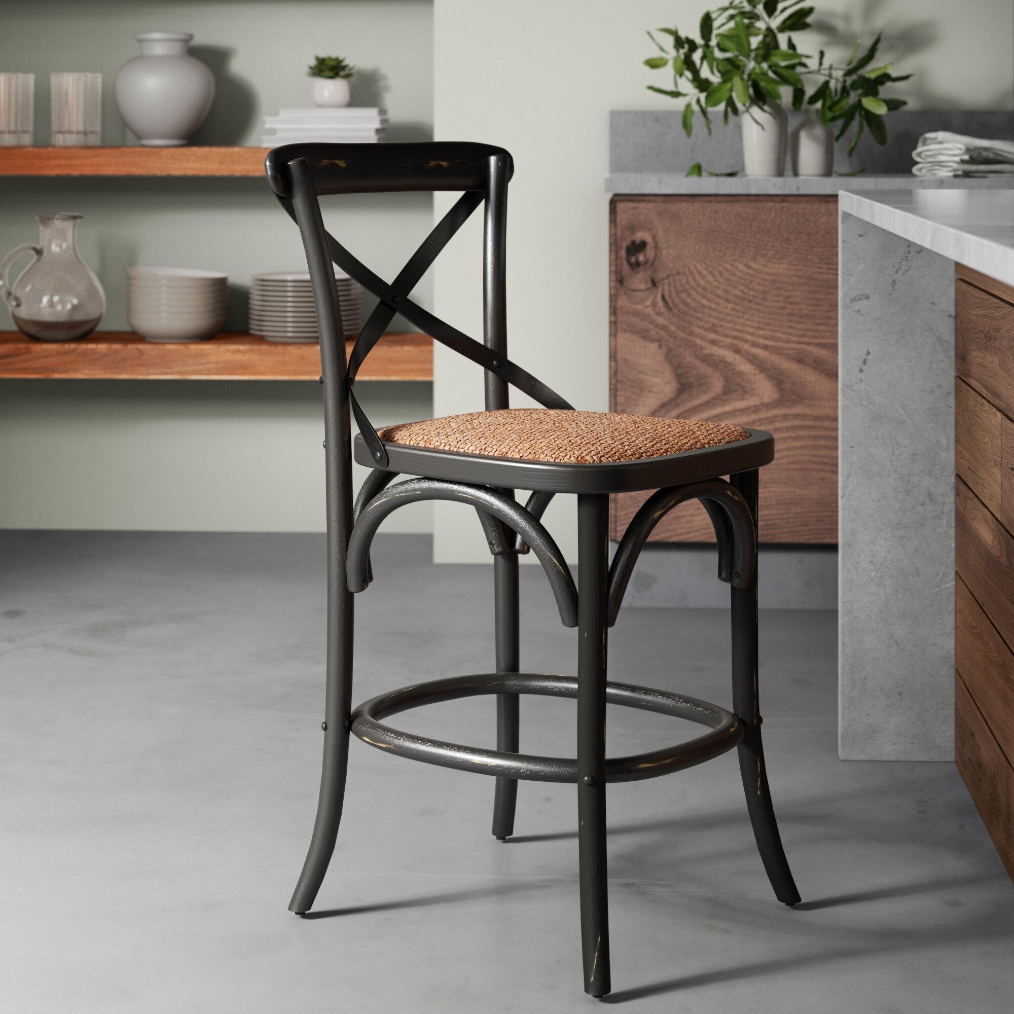 Pleasant Greyleigh Carterville Bar Counter Stool Reviews Wayfair Spiritservingveterans Wood Chair Design Ideas Spiritservingveteransorg